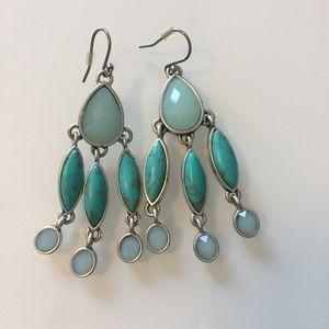 Lucky Brand | Turquoise & Aqua Drop Earrings